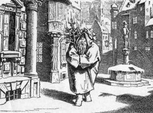 Der Herr Winter 1847 Nikolaus und Weihnachtsmann