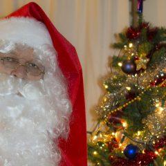 De kerstman bij je thuis?