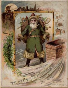 kerstman-groen